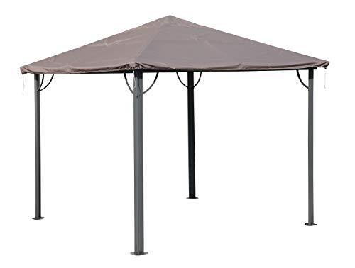 QUICK STAR Schutzhülle Wasserdicht 3x3m für Stoff und Hardtop Pavillon Ersatzdach Abdeckung