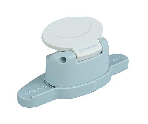 Rayher Hobby 89754000 Bordüren-Stanzer, Halbkreise- Motivgröße 4cm, geeignet für Papier/Karton bis zu 200g/m²