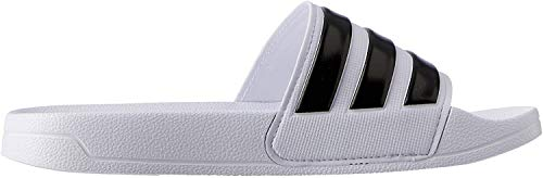 Adidas Adilette Shower, Herren Dusch- & Badeschuhe, Weiß (Footwear White/Core Black/Footwear White 0), 37 EU