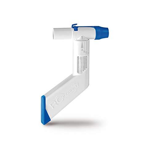 CEGLA RC-Cornet® PLUS Atemtherapiegerät löst Schleim, reduziert Husten und Atemnot – hilft leichter zu atmen, kann mit Inhalationsgerät für Inhalation verbunden werden