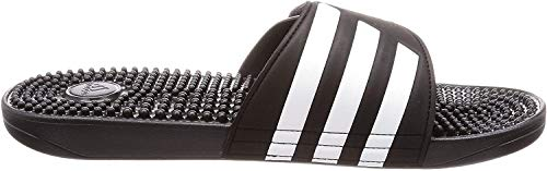 adidas Adissage, Unisex-Erwachsene Dusch- & Badeschuhe, Schwarz (Negro 000), 42 EU (8 UK)