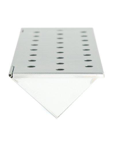 Charcoal Companion Gasgrill V-Räucherbox, stahl, 6,35 x 35,05 x 11,94 cm, CC4066