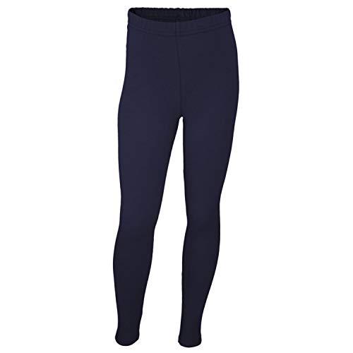 TupTam Mädchen Leggings Lang Blickdicht Baumwolle, Farbe: Dunkelblau, Größe: 140