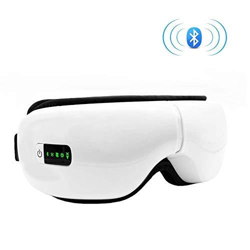 CCCS AugenmassagegerăT Elektrisch,Aufladbareverbessert Trockene Augen Und Den Schlaf Vibration Und Bluetooth Musik,Hat Eine WäRmefunktion
