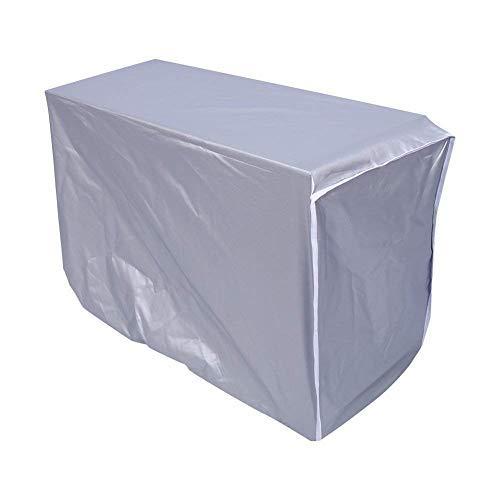 Außenklimaanlage Abdeckungs wasserdichter Klimaanlagen Staubschutz für Haus(86 * 32 * 56cm)