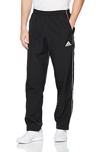 adidas Herren Core 18 Hose, schwarz (Black/White), XL