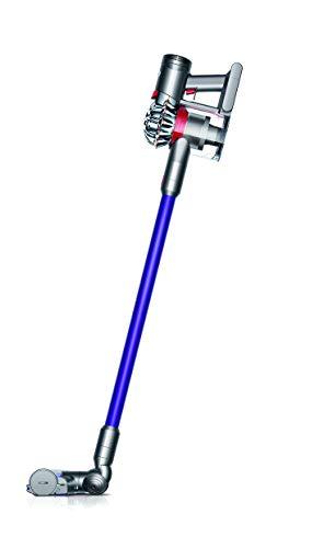 Dyson V7 Animal beutel- und kabelloser Handstaubsauger (inkl. Elektrobürste, Mini-Elektrodüse, Fugendüse und Kombidüse, für Allergiker mit Akku, Wandhalterung und Ladestation)
