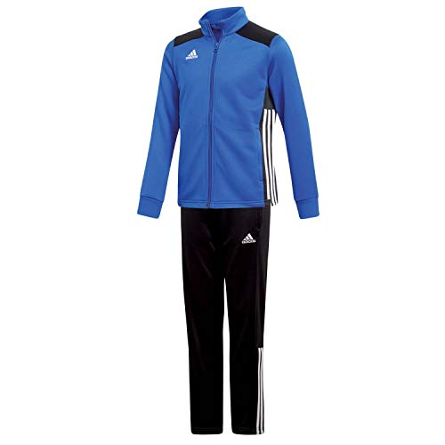 adidas Kinder Polyesteranzug Trainingsanzug Regista 18 BOBLUE/Black 152