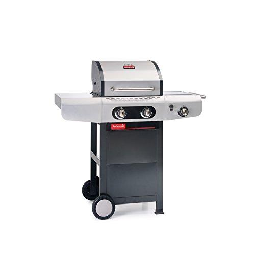 barbecook Gasgrill, Siesta 210, schwarz / grau, 80 x 62 x 52,6 cm, 2239221200