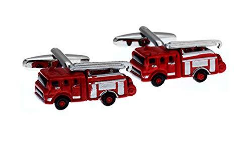 Ashton and Finch Feuerwehrwagen Manschettenknöpfe Präsentationsbox. Neuheit. Rettung. Autofahren Transport. Thema Schmuck