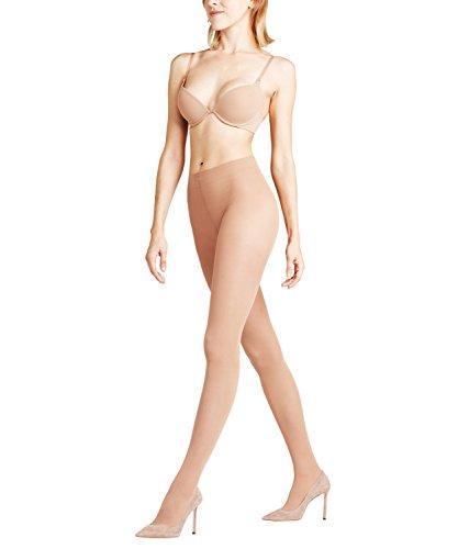 FALKE Damen Shelina Toeless 12 DEN W TI Strumpfhose, ultra-transparent, Beige (Sun 4299), S-M