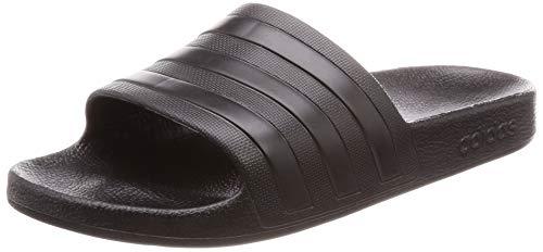 Adidas Unisex-Erwachsene ADILETTE AQUA Dusch- & Badeschuhe Schwarz (Negro 000), 46 EU (11 UK)