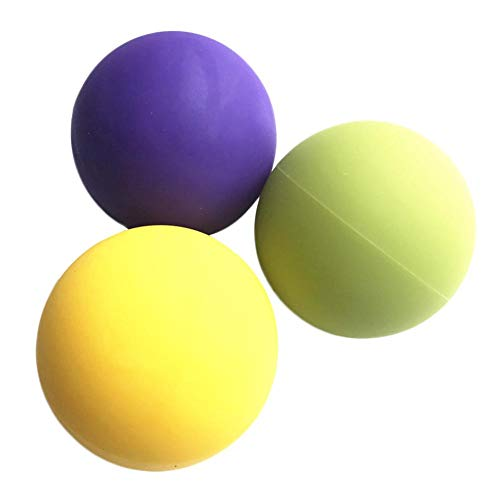 HNLZGL Massage Lacrosse Bälle, Myofascial Deep Tissue Muskel-Therapie, für Triggerpunkt-Massage/Rehabilitation/Physiotherapie/Crossfit/Massage Ball