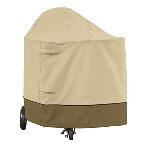 Classic Accessories Veranda Weber Summit Charcoal Grill Cover - Durable BBQ Cover with Heavy-Duty Weather Resistant Fabric (55-820-011501-00)
