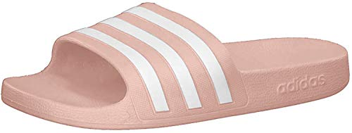 adidas CORE Women Adilette Aqua Badeschuh, Dust Pink Footwear White Dust Pink, Gr.- 38 EU