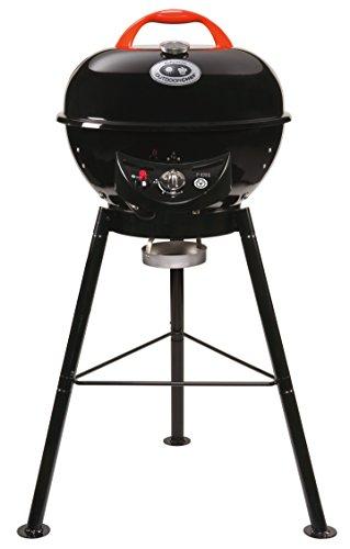 """Outdoorchef Gasgrill """"City 420 G"""" – Kugelgrill mit Trichtersystem für saftige Steaks ohne Wenden – BBQ Grill für Balkon, Terasse und Camping – Ø 42 cm mit 4.3 kW"""