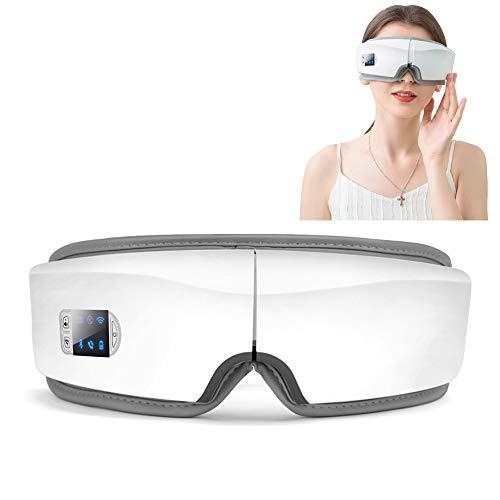CCCS AugenmassagegeräT Mit WäRmekompression,Luftverdichtung Musik Kopfschmerzen,DieAugenmassagemaske FüR ErmüDung Der Augen,Schmerzen