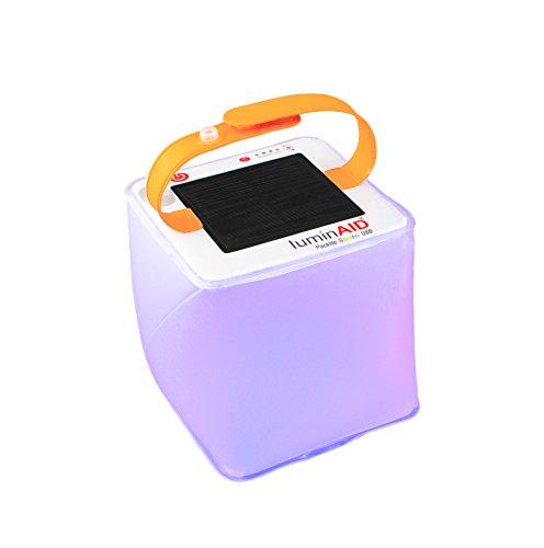 Luminaid Solar aufblasbar Laternen | Ideal für Camping Laterne, Notlicht, Pool Licht (Mehrfarbig)