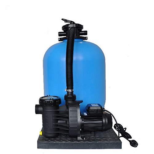Sandfilteranlage PoolsBest BL Ø 500mm mit Aqua Plus 11 m³/h