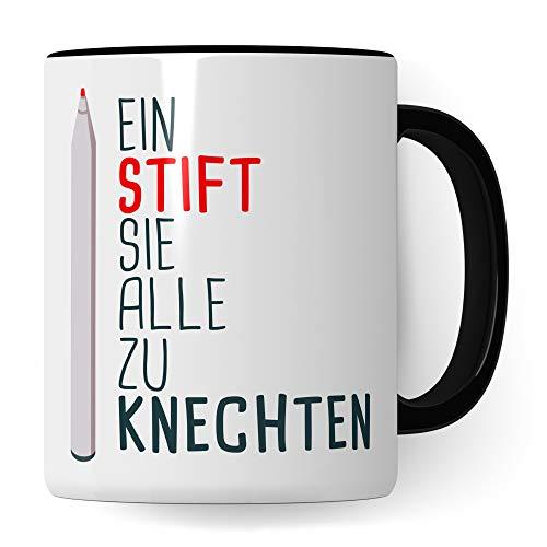 Pagma Druck Lehrer Tasse lustig | Geschenk Lehrerin Kaffeetasse Geschenkidee Lehrerin | Lehrerin Kaffeebecher Schule Unterricht Witz