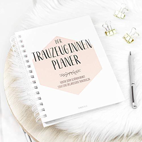 Trauzeugin Planer, Trauzeugin Geschenk, Der Planer für die Trauzeugin, Trauzeugin fragen - Willst du meine Trauzeugin sein, Hochzeit, Ringbuch