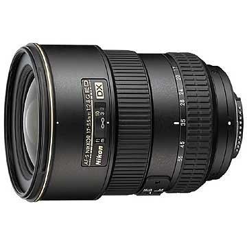 Nikon AF-S DX Zoom-Nikkor 17-55mm 1:2,8G IF-ED Objektiv (77mm Filtergewinde) (Generalüberholt)