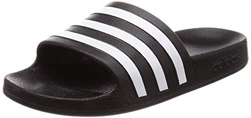 Adidas Unisex-Erwachsene Adilette Aqua Dusch-& Badeschuhe, Schwarz (Negro 000), 40.5 EU