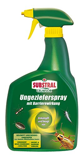 Celaflor Ungezieferspray mit Barrierewirkung, Pumpspray gegen Ungeziefer, mit Sofort- & Langzeitwirkung, 800ml
