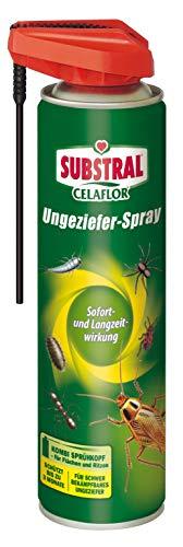 Celaflor Ungeziefer-Spray, gegen schwer bekämpfbares Ungeziefer mit Sofort- und Langzeitwirkung, geruchlos, 400 ml