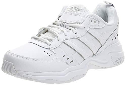 adidas Herren EG6214_44 Sneakers, Weiß FTWR Weiss FTWR Weiss Matt Silber, EU