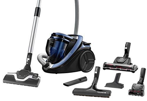 Rowenta RO7690 Silence Force Cyclonic Animal   Beutelloser Staubsauger   Vacuum-Cleaner   Sehr Leise   2,5L Staubvolumen   Tierhaare   Auto   Schwarz/Blau
