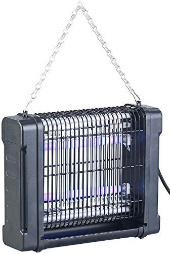 Lunartec Elektro-Insektenkiller: UV-Insektenvernichter mit Rundum-Gitter, 2 UV-Röhren, 1.600 V, 12 Watt (Elektrischer Fliegenfänger)