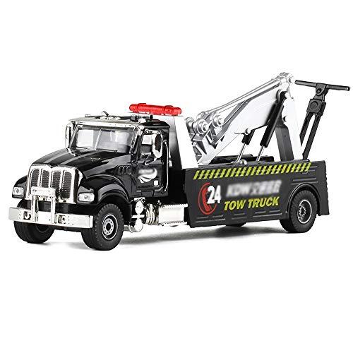 Xolye 01.50 Legierung Rettungs-Auto-Modell-Simulation City Transport Rettung Auto-Spielzeug-Auto-Boxed-Rettung Auto Anhänger Boy Toy Car Metall Anti-Fallen Kinder-Spielzeug-Auto-Geschenk