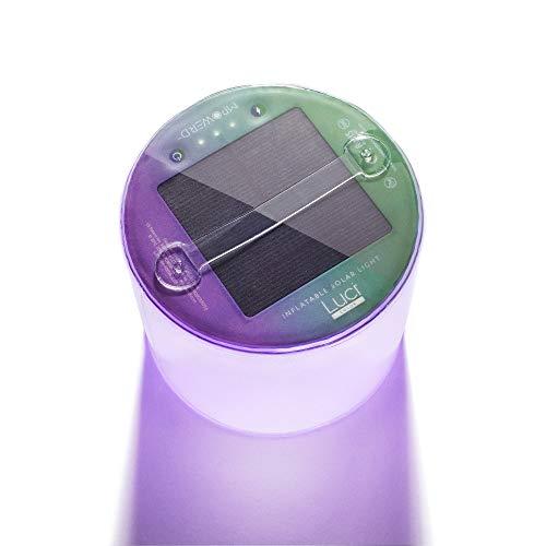 MPOWERD Luci Farbe aufblasbare Solar-Laterne, Lila, ONE Size