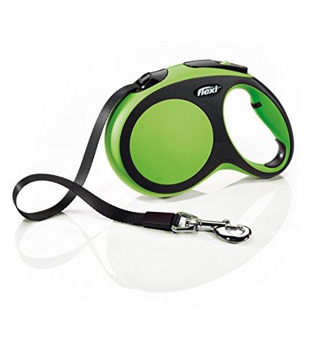 Flexi CF30T5.250.G Hundeleine, einziehbar, mit Klebeband, Größe L, Grün