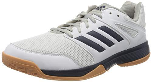 adidas Herren Performance Speedcourt Ef2623 Volleyball-Schuh, Ftwwht/Conavy/Gum2, 42 EU