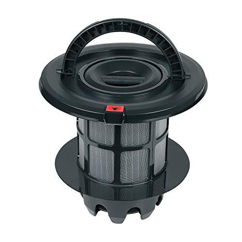 Abluftfilter für beutellose Bodenstaubsauger Bosch Ø 205 mm Ersatz für 708278 00708278 Abwaschbarer Lamellenfilter für Bosch Staubsauger