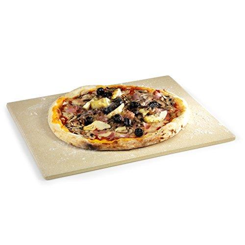 Pizzastein feuerfeste Keramik 1,2 cm dick passend für Grill Siesta & Quisson