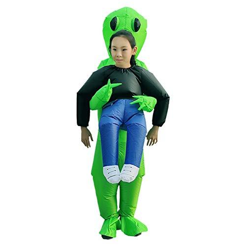 Yue668 Party Overall Kostüme Aufblasbare Aliens Aufblasbare Kleidung Grenzüberschreitende lustige Requisiten Halloween Party Eltern und Kind Douyin Kleidung Weihnachten lustige Party (B)