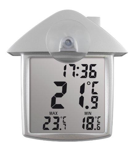 Koch Solar-Fensterthermometer, transparent