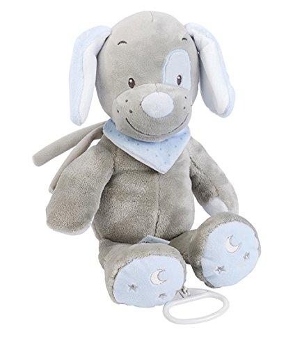 Nattou Spieluhr, Jungen, 28 cm, blau - Toby der Hund