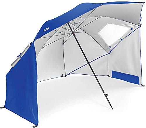 SportBrella Sonnenschirm, blau, 2.4 m