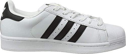adidas Unisex-Erwachsene Superstar Low-Top, Weiß (Ftwr White/Core Black/Ftwr White), 39 1/3 EU