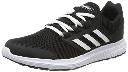 adidas Herren Galaxy 4 Laufschuhe, Schwarz (Core Black/Footwear White/Core Black 0), 42 2/3 EU