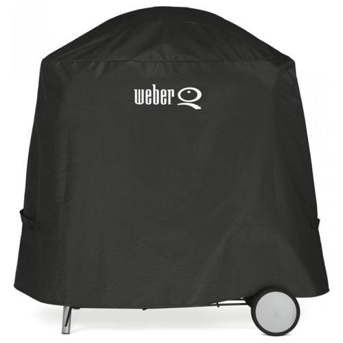 Weber 7120 Abdeckhaube Premium, schwarz, 88,9 x 67,3 x 43,2 cm