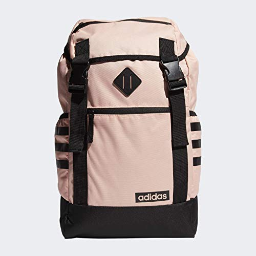 adidas Midvale Backpack Rucksack, Pink/Schwarz, Einheitsgröße