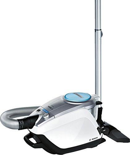 Bosch Relaxx´x ProSilence Plus Bodenstaubsauger beutellos BGS5331, besonders leise & saugstark, für Allergiker geeignet, 700 Watt, weiß
