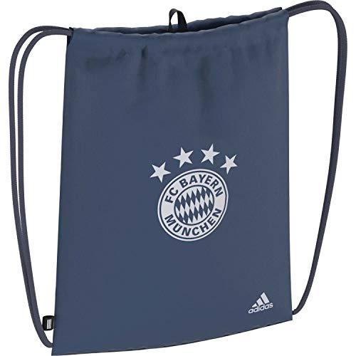 adidas Performance FC Bayern München Turnbeutel blau/grau, OS