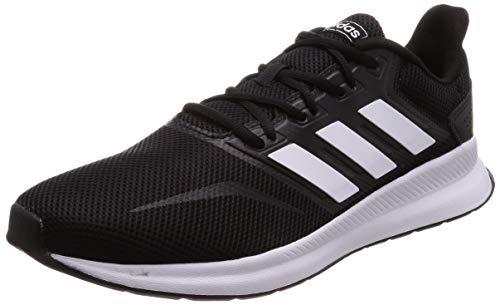 adidas Herren Falcon Laufschuhe,Schwarz (Core Black/Footwear White/Core Black 0),42 EU