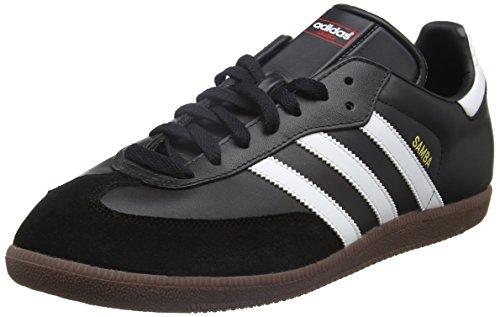 adidas Unisex-Erwachsene Fußballschuh Samba Low-Top Sneakers, Schwarz (Black/running White Footwear), 42 2/3 EU